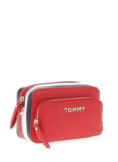 Tommy Hilfiger Omuz Çantası Kırmızı